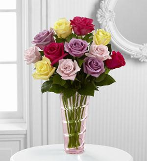 The FTD® Mother's Day Mixed Rose Bouquet