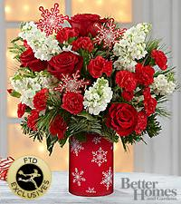 The FTD® Holiday Delights™ Bouquet by Better Homes and Gardens®