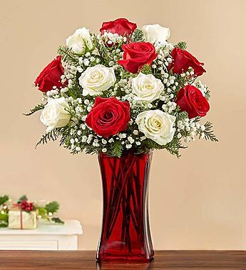 Merry & Bright™ Rose Bouquet