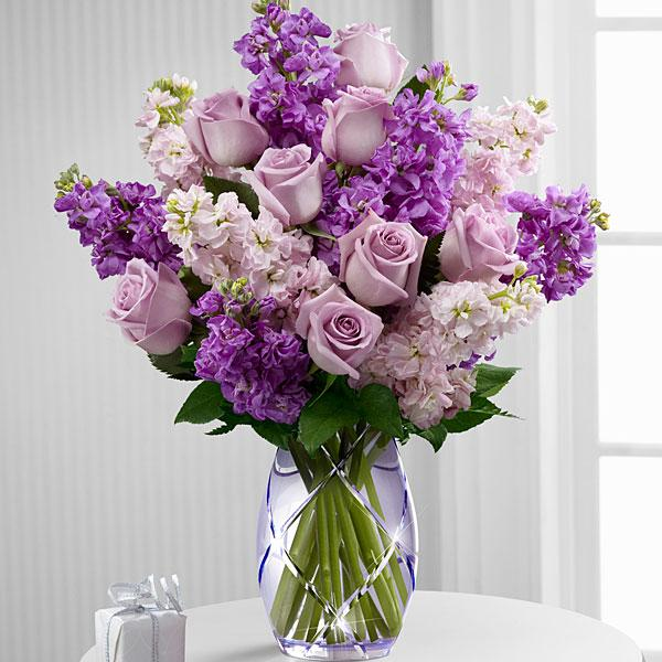 The FTD® Sweet Devotion™ Bouquet by Better Homes and Gardens® -VASE INCLUDED