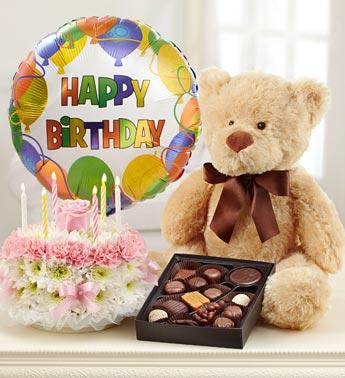 Brilliant Birthday Flower Cake Pastel Funny Birthday Cards Online Alyptdamsfinfo