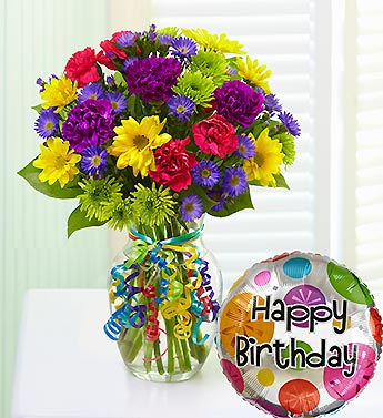 It''s Your Day Bouquet Happy Birthday