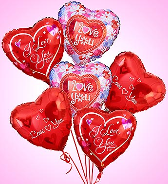 Air-Rangement® - Love & Romance Mylar Balloons