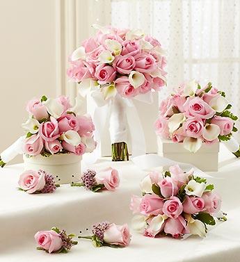 Denver florist le grues flowers bridal party personal package pink bridal party personal package pink mightylinksfo