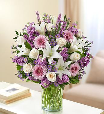 Ultimate Elegance™ - Lavender and White