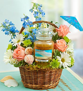 Yankee Candle Sun and Sand Basket