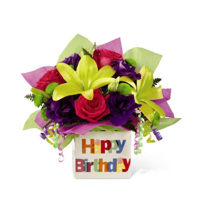 The FTD Happy Birthday Bouquet