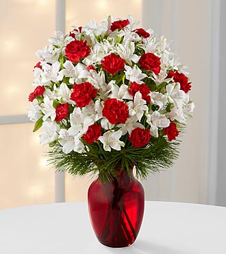 Gorgeous Greetings Holiday Bouquet - No Vase