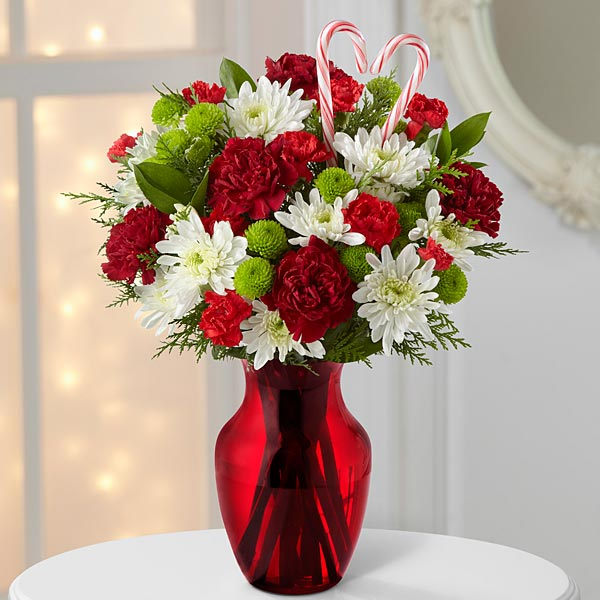 Heart of the Holidays Mixed Bouquet - No Vase