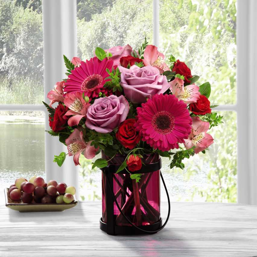 The FTD Pink Exuberance Bouquet by Better Homes and Gardens