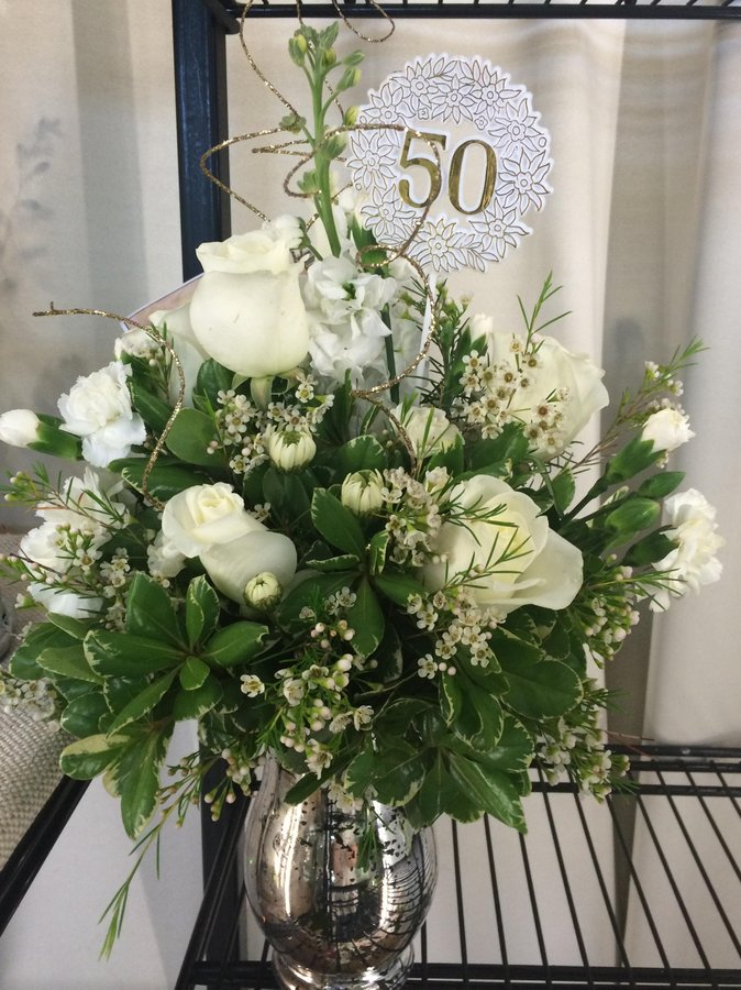 50th Anniversary Bouquet