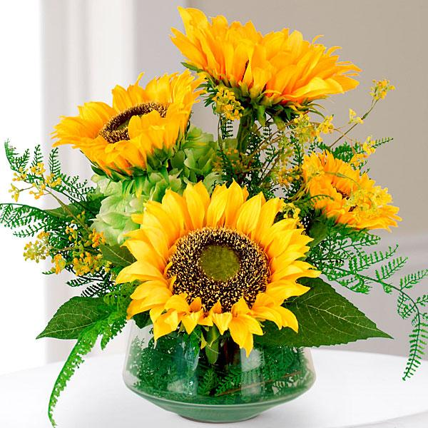 The Better Homes and Gardens® Silk Harvest Sunflower Bouquet