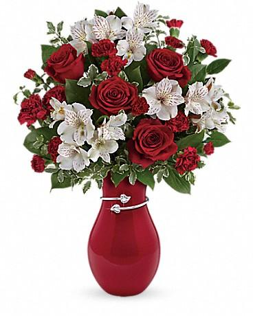 Teleflora's Pair Of Hearts Bouquet