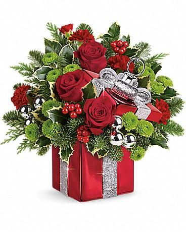 Teleflora's Gift Wrapped Bouquet