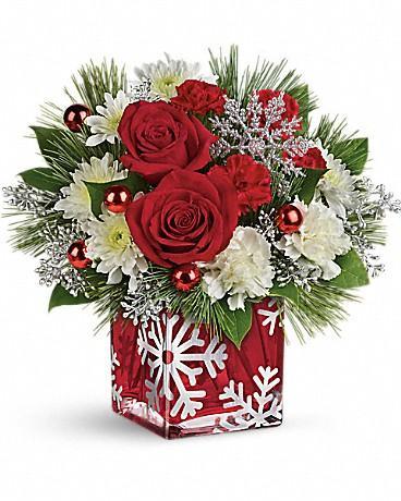 Teleflora's Silver Christmas Bouquet