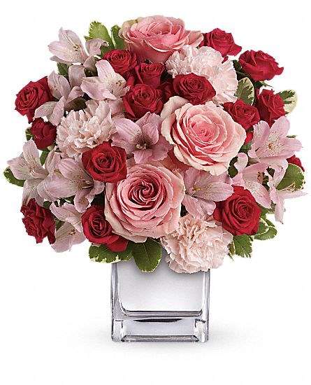 Love That Pink Bouquet with Roses