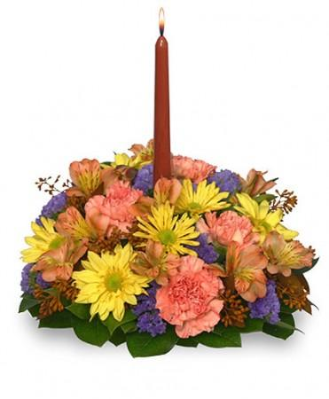 GRATEFUL EXPRESSIONS Fall Centerpiece