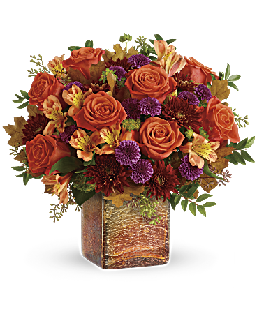 Teleflora's Golden Amber Bouquet