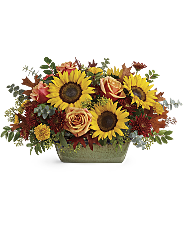 Teleflora's Sunflower Farm Centerpiece